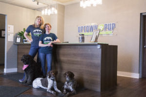 Uptown Pup Owners Mandy Stetzel and Kathleen Schonsheck