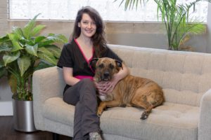 Britt Miller, Salon Manager, Uptown Pup